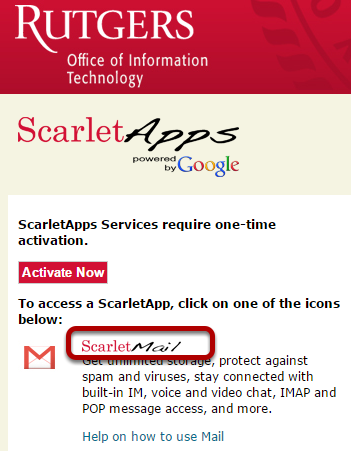 Setting Up Windows 10 Mail With ScarletMail (using Official