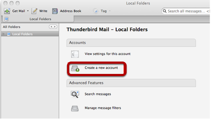 Configuring Thunderbird with Scarletmail